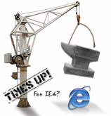 Times is Up for IE6