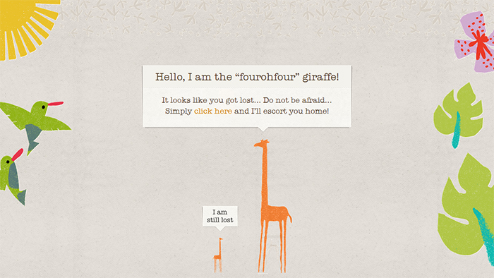 Giraffe 404