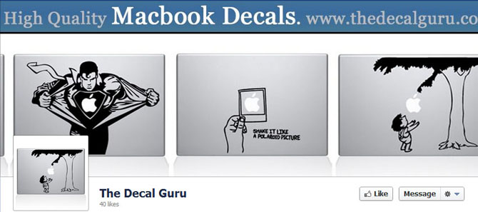 The Decal Guru Facebook Fan Page
