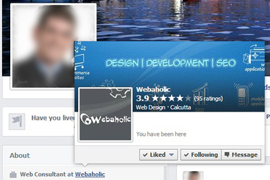 Linking Facebook Profile To Page