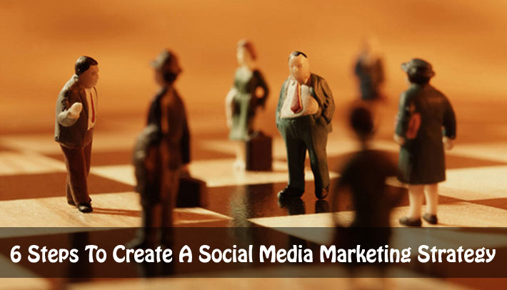6 Steps To Create A Social Media Marketing Strategy