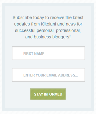 Display the importance of Subscribing