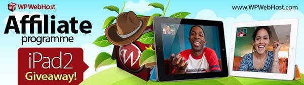 WPWebHost iPad2 Giveaway