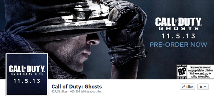 Call of Duty Facebook Page