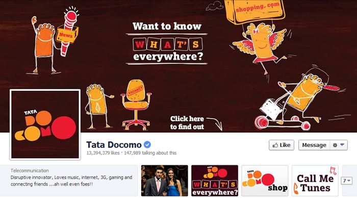 Docomo Facebook Page