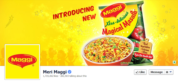 Maggi Facebook Page