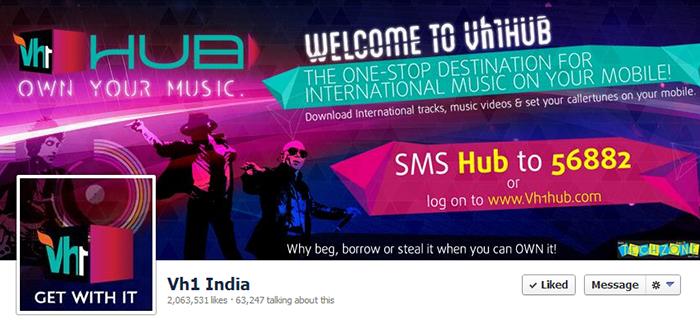 VH1 Facebook Page