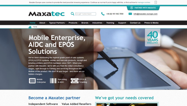 Maxatec Screenshot