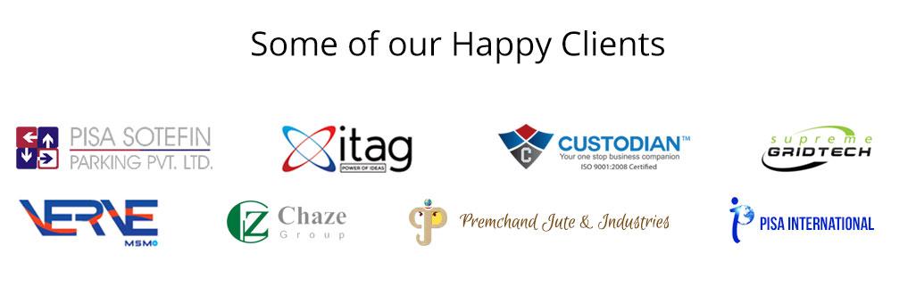 Webaholic's Client List
